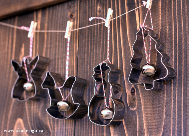 DIY Cookie Cutter Christmas Ornaments