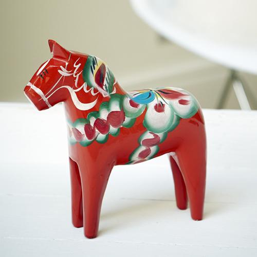 Red Swedish Dala Horse