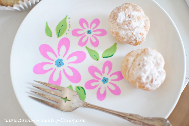 Decorating Dessert Plates With Sharpies Town Country