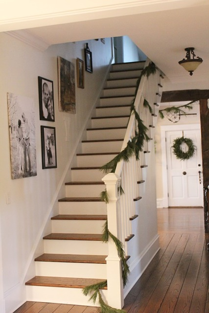 New Stairway in Vintage Bungalow