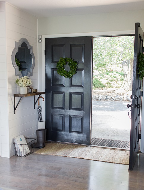 Entry way at Jenna Sue Design blog