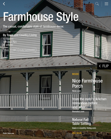 Free Farmhouse Style Flipboard Magazine, filled with tons of farmhouse inspiration!