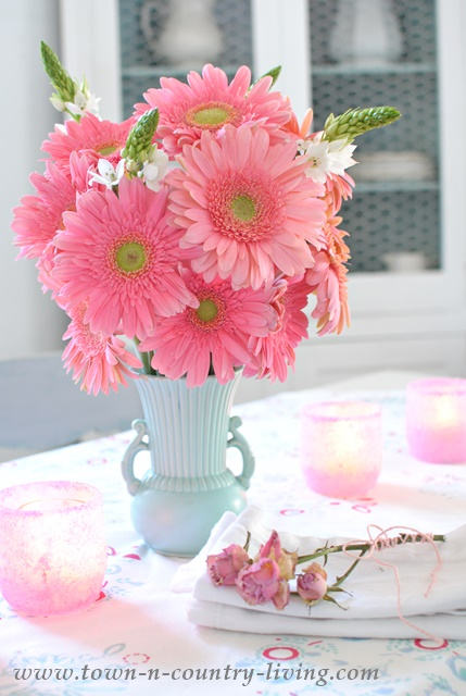 Why I Love Pink Gerbera Daisies Town Amp Country Living