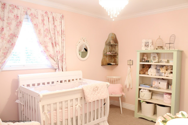 Pink Nursery by So Much Better with Age