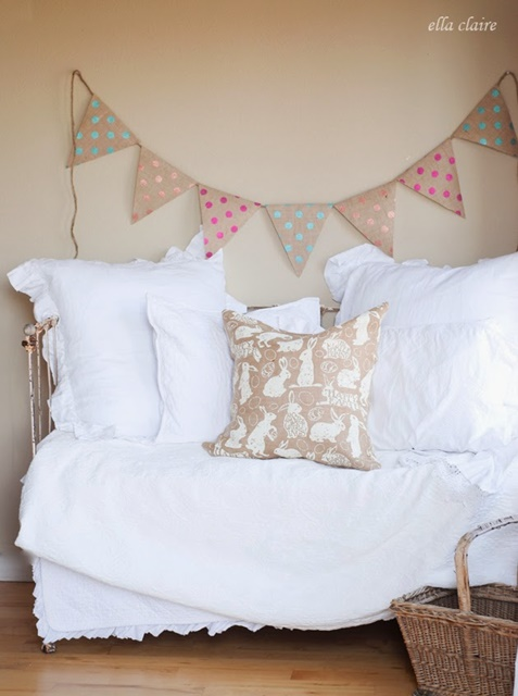 Polka Dot Banner by Ella Claire