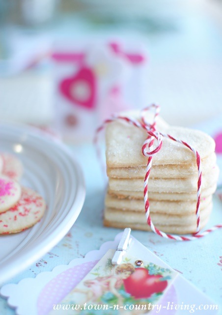 Easy Sugar Cookies make a sweet gift, tied with pretty baker's twine.