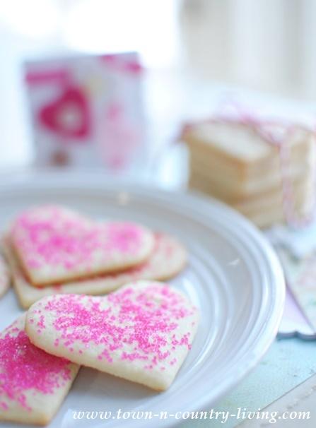 Easy Valentine's Sugar Cookies