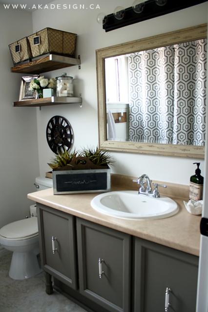 Neutral Bathroom at AKA Design