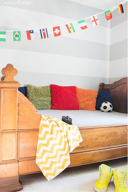 Colorful Boy's Bedroom