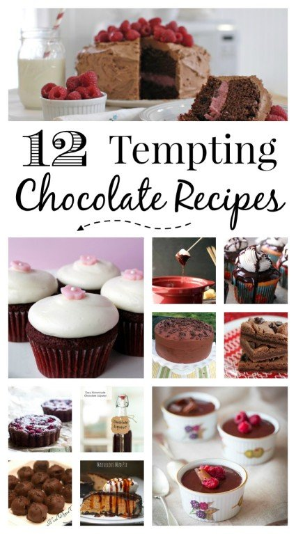 12 Tempting Chocolate Recipes