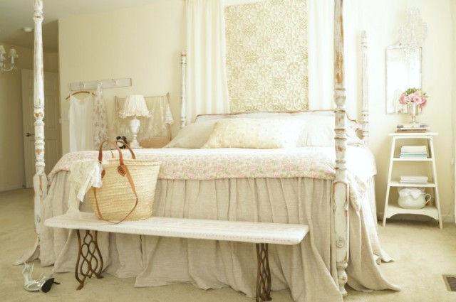 French style master bedroom