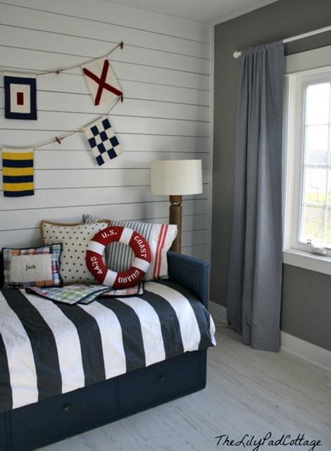 Nautical Style Boys Bedroom