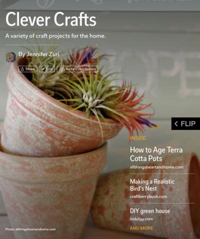 Clever Crafts Flipboard Magazine
