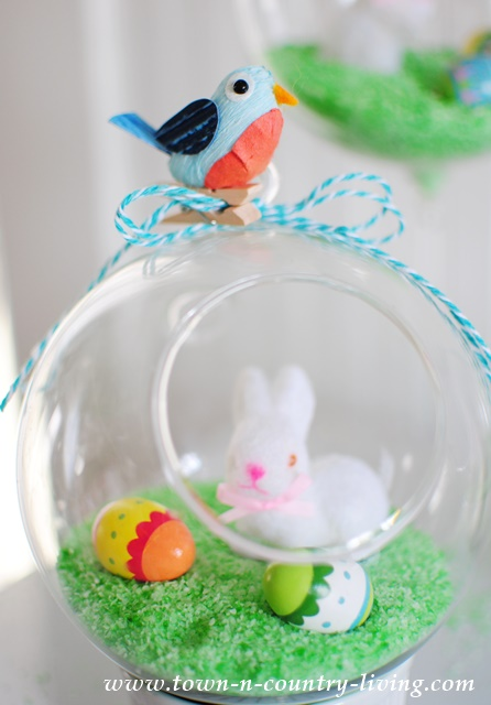 Easter Globe Decorations