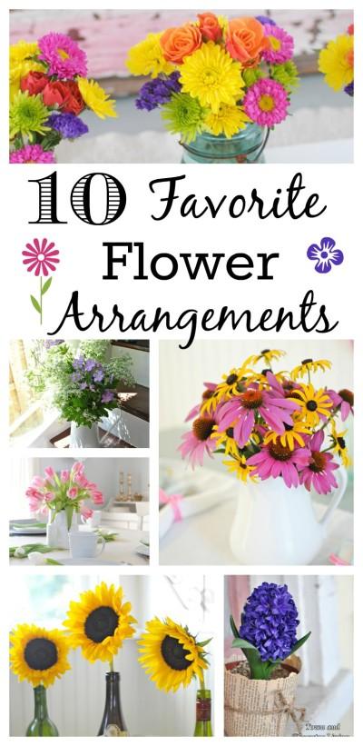 10 Favorite Flower Arrangements