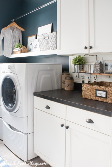Laundry Room at The LilyPad Cottage