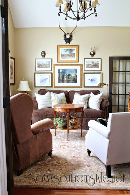 Sitting Room at Savvy Southern Style