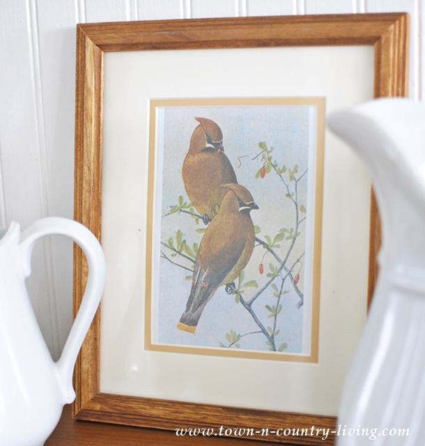 Spring Bird Print. Free download.