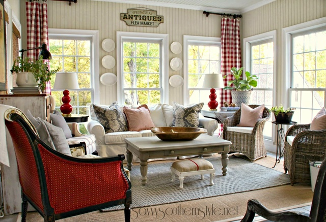 Country Style Sun Room