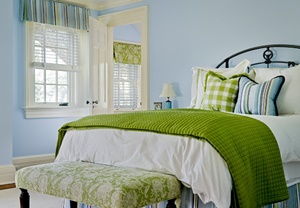 Decorating with Apple Green