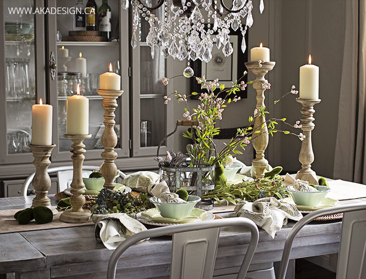 Elegant Cottage Style Dining Room
