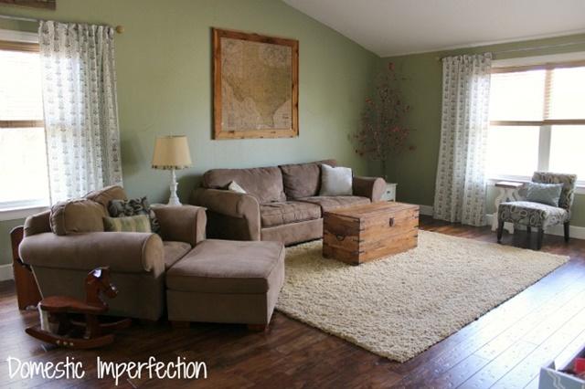 Spacious Contemporary Living Room