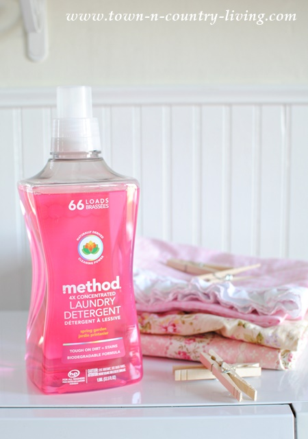 How to have fresh smelling laundry with method laundry detergent