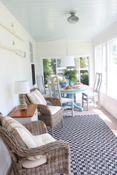 Traditional East Coast Sun Room