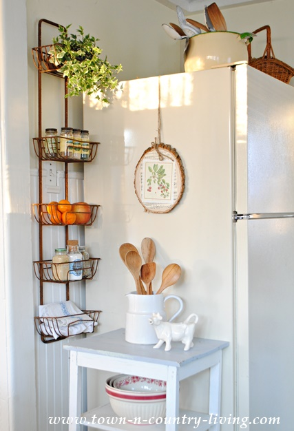 Organize your Kitchen with a Wall Basket Hanger
