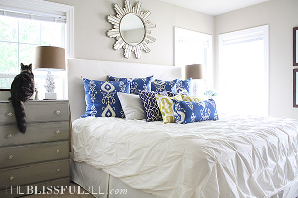Charming Home Tour - Master Bedroom