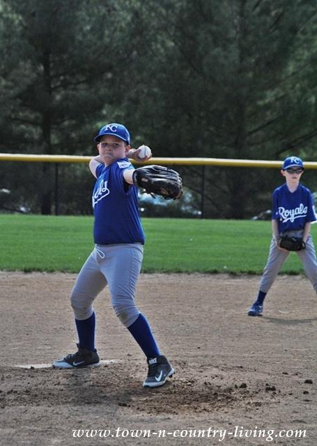 Pitching a Baseball Game