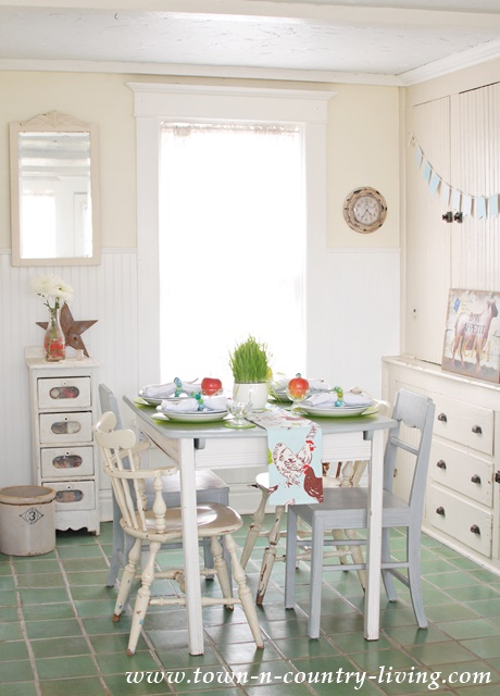 Farmhouse Kitchen Dining Nook