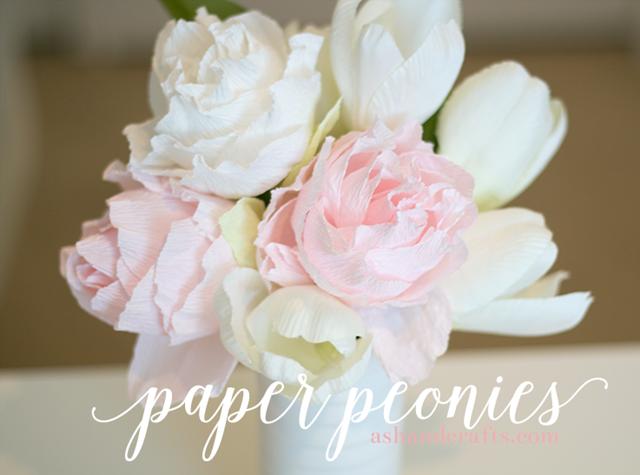 DIY Paper Peonies