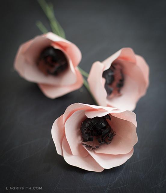 DIY Pink Anemones