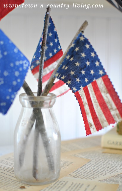 DIY Mini Flags