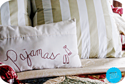 Pajamas Pillow
