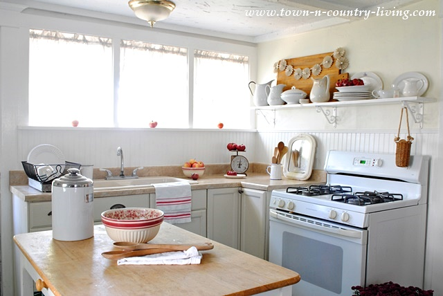 An American Farmhouse Kitchen