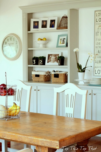 Farmhouse Style Breakfast Room