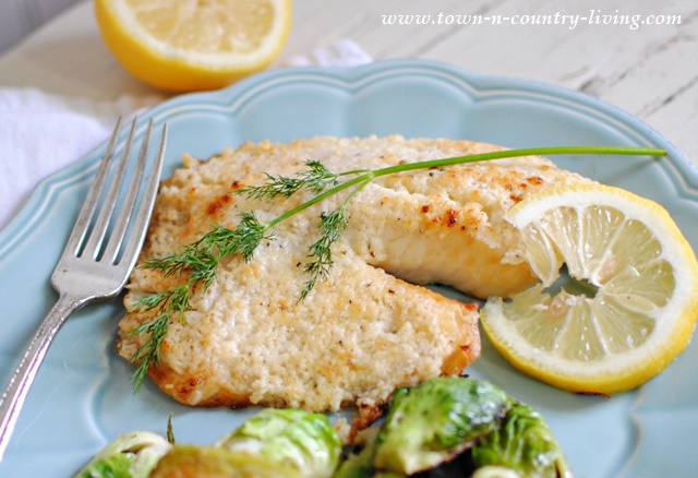 Broiled Tilapia Parmesan Recipe - Town & Country Living