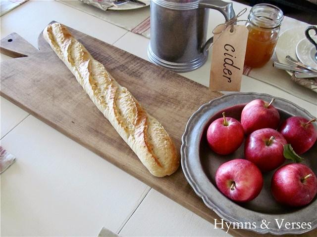 DIY French Bread Board