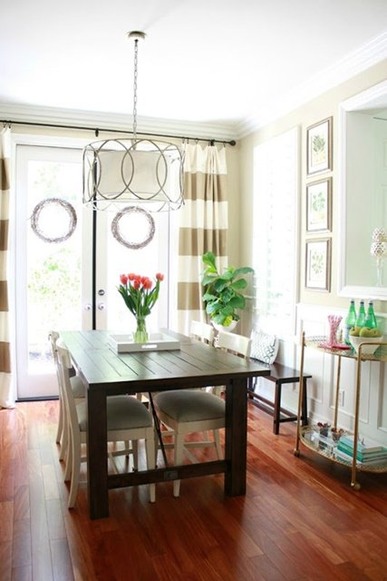 Bright and Airy Dining Room