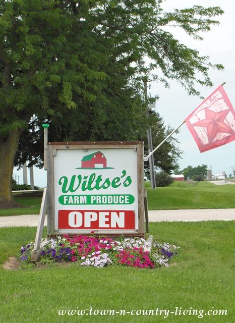 Wiltse's Farm Market in Maple Park, Illinois