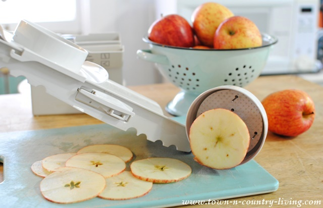 Recipe for Baked Apple Chips