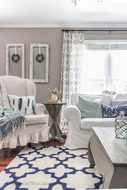 Charming Home Tour Shades Of Blue Interiors Town