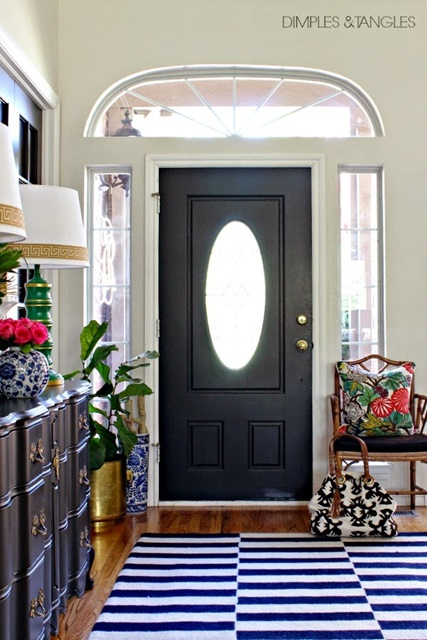Traditional Entry Way