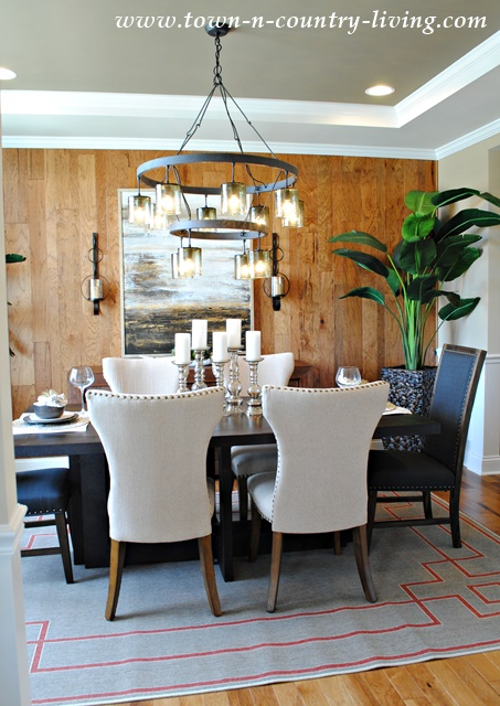 Industrial Chic Style Dining Room