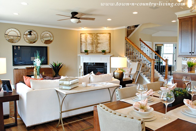 Industrial Chic Model Home Town Amp Country Living
