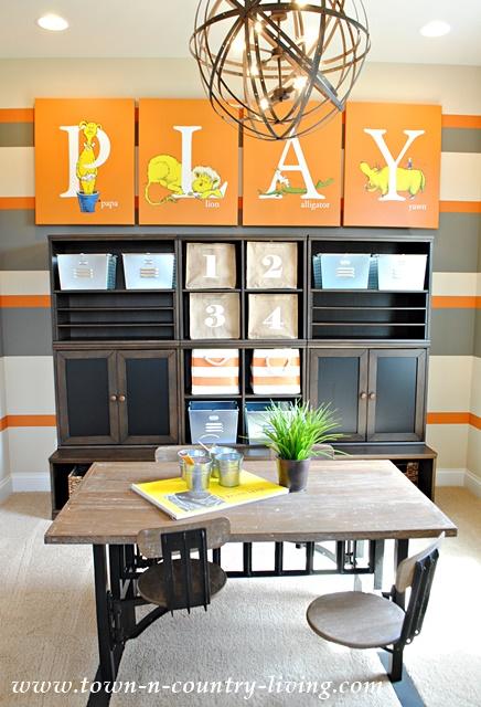 Model Home Playroom