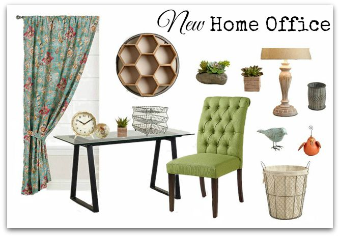 New Home Office Mood Board. Shop the Look!