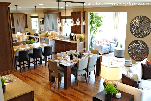 Riverton Model Home by Pulte Builder